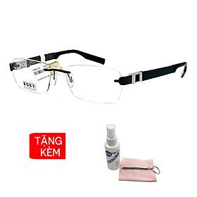 Gọng kính, mắt kính chính hãng Boxx BMX918R F90 - Tặng 1 khăn và nước lau kính - khăn màu ngẫu nhiên