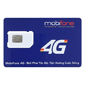Sim 4G Mobifone Đầu số đẹp 09 - Đăng ký chính chủ (Tặng thẻ cào 50.000) - Gói cước Thần Tài - Hàng chính hãng