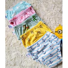 Combo 10 Quần bỏ bỉm vải cotton 6 lớp siêu thấm, thoáng mát hiệu Goodmama cho Bé trai từ 5-17 kg.-2