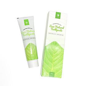 Kem đánh răng Laco - Sản phẩm Organic giúp trắng sáng - Dùng cho cả mẹ và bé