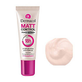 Kem Lót Cho Da Dầu Dermacol Matt Control Make-up Base 20ml