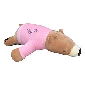 Gấu Bông Bắc Cực Mặc Áo Dài Ichigo Shop (60cm) - Hồng