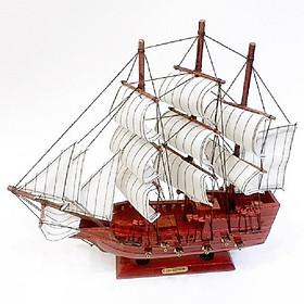 Mô hình thuyền buồm trang trí  33152G - 33cm