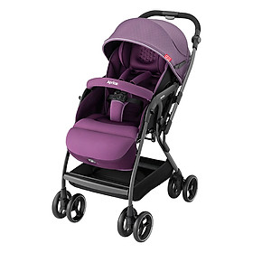 Xe Đẩy Trẻ Em Aprica Optia Premium CTS Purple