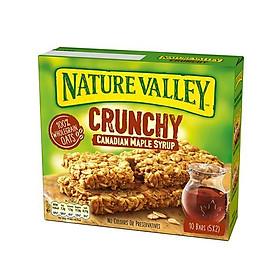 Bánh yến mạch xi rô phong NATURE VALLEY 210gx5 hộp/ thùng