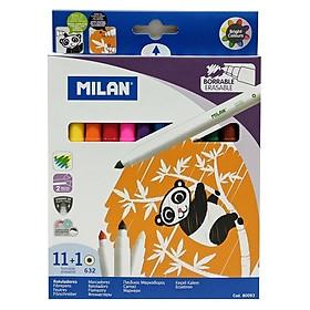 Hộp 12 Bút Nước Tẩy Được - Milan 80093