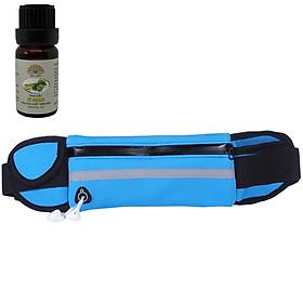 Đai đeo hông chạy bộ chống nước cao cấp ( Tặng 1 chai TD sả chanh 10ml)