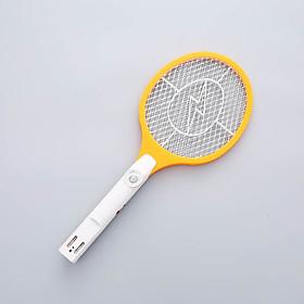 Vợt Bắt Muỗi Sạc Điện Có Đèn LED (Giúp Nhà Bạn Hoàn Toàn Sạch Muỗi, Màu Ngẫu Nhiên)