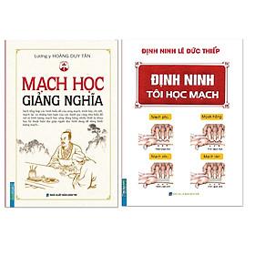 Combo sách Định Ninh Tôi Học Mạch / Mạch Học Giảng Nghĩa (Bìa Cứng)