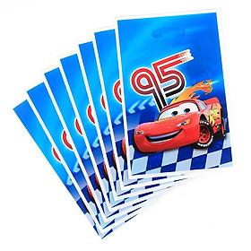 10 túi quà Party gift bag 17 x 25 cm chủ đề Car 95