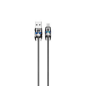Cáp sạc Hoco hỗ trợ sạc nhanh 2.4A chuẩn Micro USB, dây sạc bọc lò xo inox siêu bền, hạn chế rối, dành cho Samsung, Huawei, Xiaomi, Oppo, Sony, U30 - Hàng chính hãng