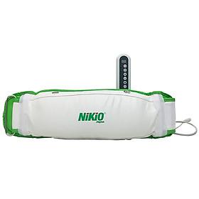 Đai massage giảm mỡ bụng Nhật Bản Nikio NK-168 - Rung và Nóng