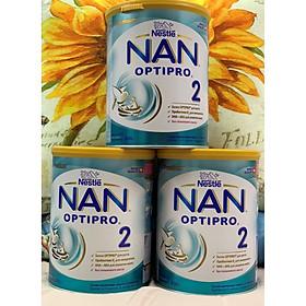 Combo 3 hộp Sữa Bột Nestlé NAN Nga Optipro 2 (800g) 6-12 tháng