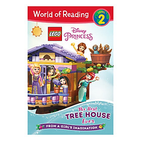 World of Reading level 2 LEGO Disney Princess: The Best Tree House Ever