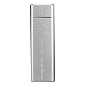 USB3.1 Loại C Sang M.2 M Key NVMe SSD Tốc Độ Cao 10GbPS