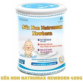 SỮA NON NATRUMAX NEWBORN 400Gram Dành Cho Trẻ Sơ Sinh Dưới 2 Tuổi