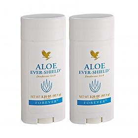 Hình đại diện sản phẩm Combo 2 Sáp khử mùi không chứa muối nhôm Aloe Ever – Shield (#067) 92.1gr/tuýp