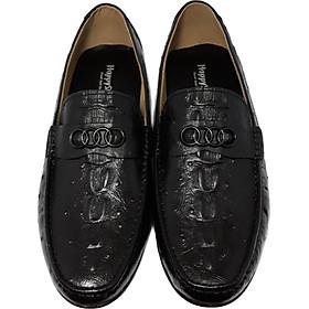 Giày Da Nam Cao Cấp Phong Cách Trẻ Trung Năng Động Lịch lãm, Giày Tây Nam Da Bò HS08