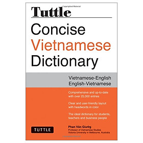CT Tuttle Concise Vietnamese Dict 2