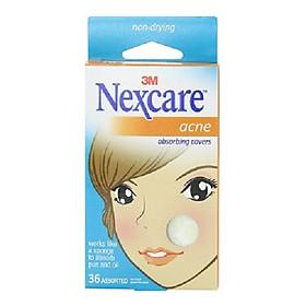 Miếng dán hỗ trợ trị mụn Nexcare AC-036 cao cấp (36 miếng/hôp)