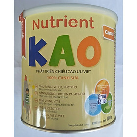 Sữa tăng chiều cao cho trẻ 1 – 6 tuổi Eneright Nutrient KAO (700g)