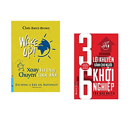 Combo 2 cuốn sách: Xoay Tư Duy Chuyển Cuộc Đời + 36 Lời khuyên dành cho người khởi nghiệp