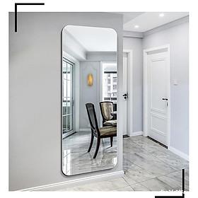 Gương soi toàn thân bo viền mang phong cách hàn quốc treo tường kích thước 50x120cm-gương hoàng kim