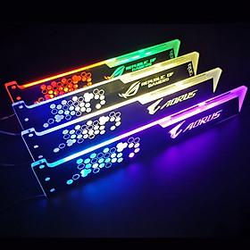 Thanh Led RGB Aorus Rog đồng bộ Hub , Dùng độ trang trí cho VGA máy tính - hàng nhập khẩu