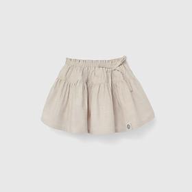 Chân váy xòe BAA BABY 2 tầng phối nơ cho bé gái từ 1 - 7 tuổi - GT-CV10N