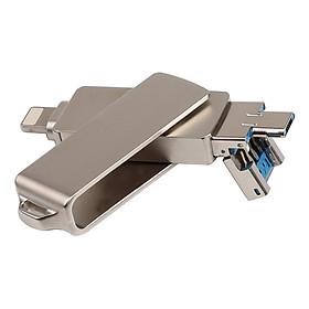 USB Cổng Lightning/Micro USB/USB 2.0 Đa Năng 3 Trong 1 (16GB)