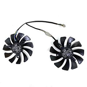 2pcs/lot NEW 85MM 4PIN HA9010H12F-Z RTX2060 Cooling Fan For  MSI GeForce RTX 2060 VENTUS XS C 6G OCV1 GTX1660Ti 1650 Video Card Fans