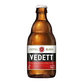 Thùng 24 chai bia Vedett blond