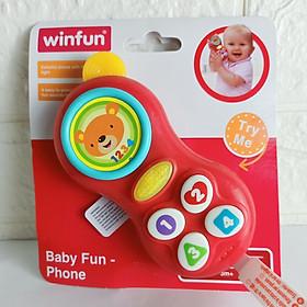 Điện thoại phát nhạc vui nhộn Winfun 0638