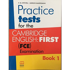 Practice tests for the Cambridge English: First (FCE) Examination
