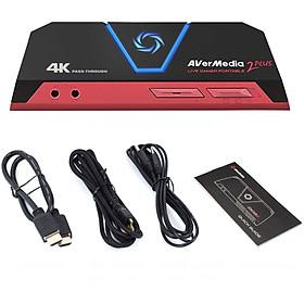 Thiết Bị Ghi Hình và Livestream Avermedia 2 Plus GC-513 Cho Gamer Độ Phân Giải Ultra HD 4K AnZ - Hàng Chính Hãng