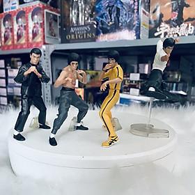 Bộ 4 nhân vật Lý Tiểu Long - Bruce Lee