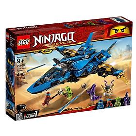 Đồ Chơi Xếp Hình LEGO Máy Bay Chiến Đấu Bão Táp Của Jay 70668
