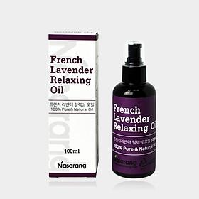 NASARANG FRENCH LAVENDER  RELAXING  OIL ( 100ml )