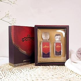 Set 3gr Saffron Salam - Nhụy Hoa Nghệ Tây Negin Dòng Hữu Cơ Tặng 1gr Saffron  Salam Đạt Độ Tinh Khiết Theo Tiêu Chuẩn ISO 3632