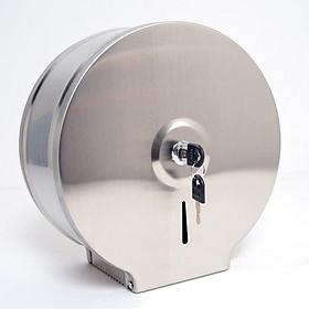 Hộp đựng giấy vệ sinh gắn tường cỡ lớn Inox 26cm