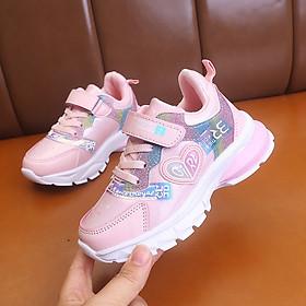 Giày thể thao cho bé gái 3 - 12 tuổi kiểu dáng Hàn Quốc GE40