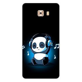 Hình đại diện sản phẩm Ốp lưng dẻo cho điện thoại Samsung Galaxy C9 Pro _Panda 05