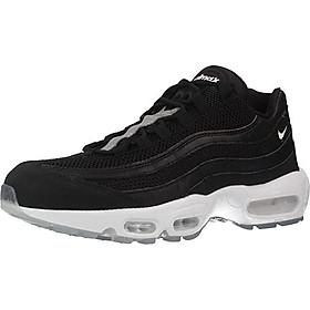 Nike AIR MAX 95 PRM Mens Fashion-Sneakers bstn_538416-008_8.5 - Black/Chrome-Black-Off White