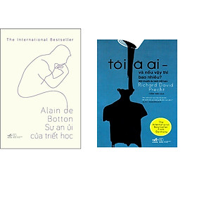 Combo 2 cuốn sách: Sự an ủi của triết học  + Tôi là ai - và nếu vậy thì bao nhiêu?