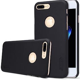 Ốp lưng chống sốc cho Iphone 7 Plus và Iphone 8 Plus hiệu Nillkin (Đính kèm phụ kiện ngẫu nhiên) - Hàng chính hãng (Đen)