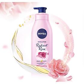 Sữa dưỡng thể dưỡng trắng da Nivea Radiant Rose 350ml