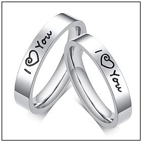 Nhẫn cặp đôi I love You – thắt chặt tình cảm lứa đôi