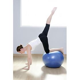 Bóng Tập Yoga, Bóng Yoga Tròn Cỡ Đại 75cm Cao Cấp - Chính Hãng (Hàng nhập khẩu)-5