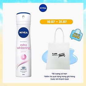 Xịt Khử Mùi Nữ Nivea Extra Whitening 150ml - 82967