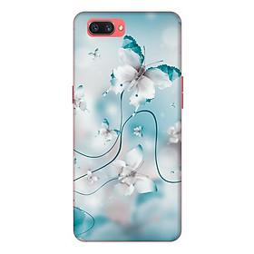 Ốp lưng điện thoại Realme C1 hình Hoa Hồng Và Bướm